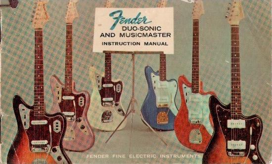 Auf dem Manual für Duo-Sonic und Musicmaster waren nur Jaguar und Jazzmaster abgebildet. Zufall?