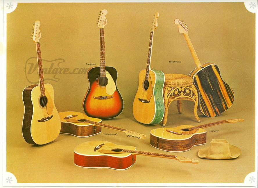 Aus dem Fender-Katalog von 1967