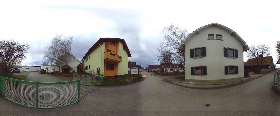 3D Scan von Fassaden farbig