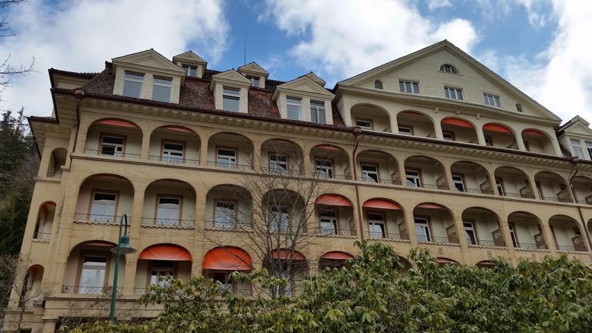 Fassadenaufmaß Klinik St. Blasien