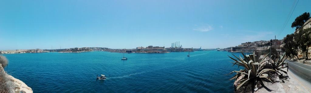 Blick in die Bucht von Valletta