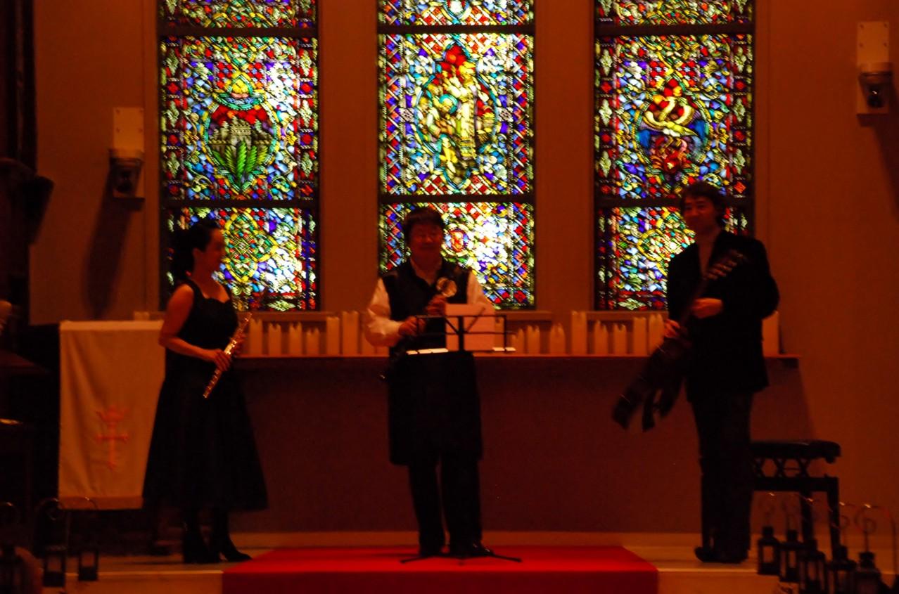 2012年11月9日 バッハ イン ラテンスタイル 広島市南区 聖ラファエル教会
