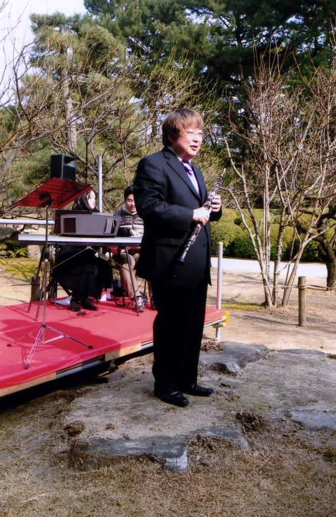 2013年2月9日 広島縮景園梅林コンサート
