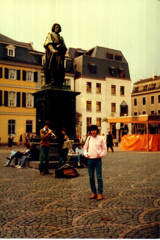 ボン(Bonn)ベートーヴェン広場で1982年