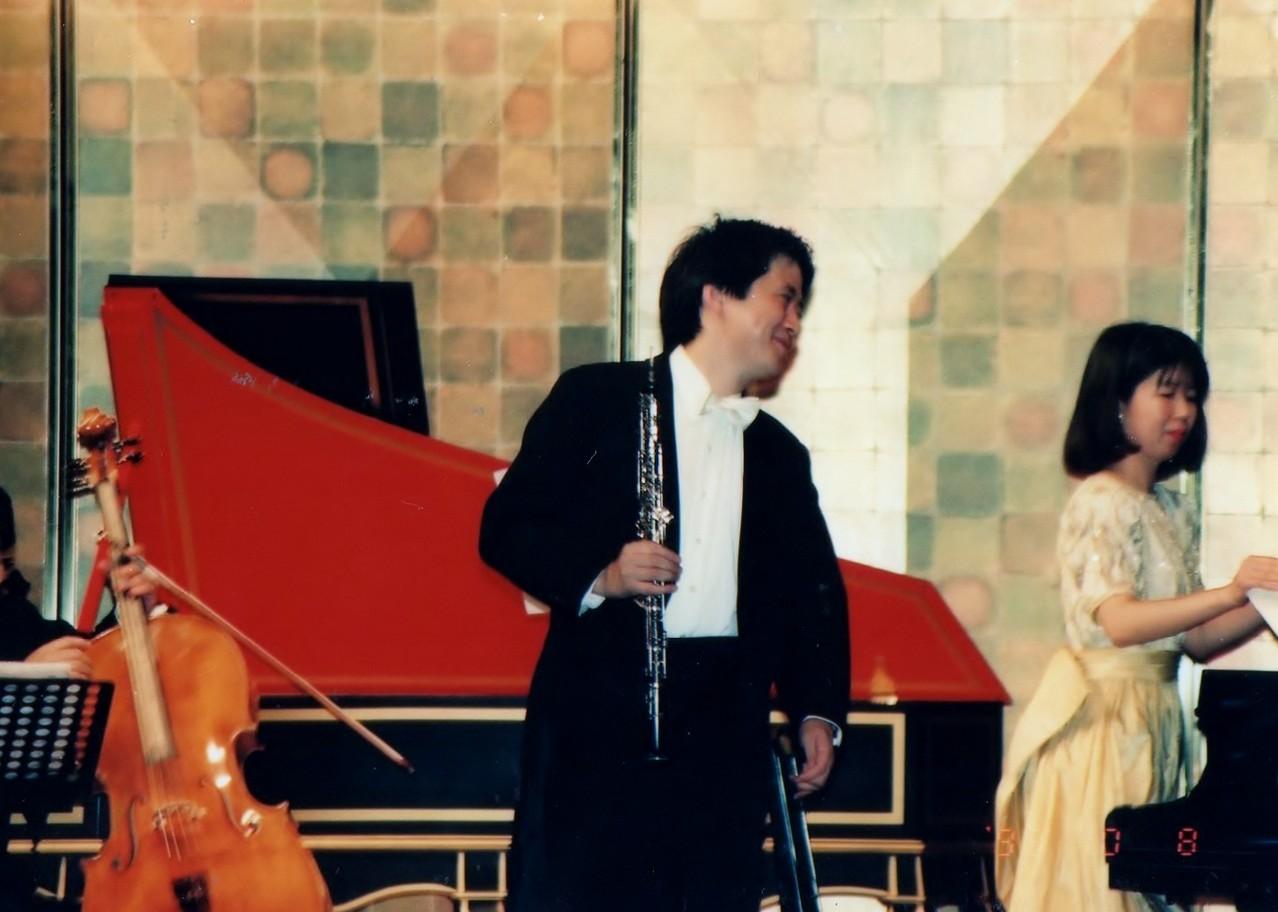 第2回 J.S.バッハ作曲  オーボエ(フルート)・ソナタト短調BWV1020