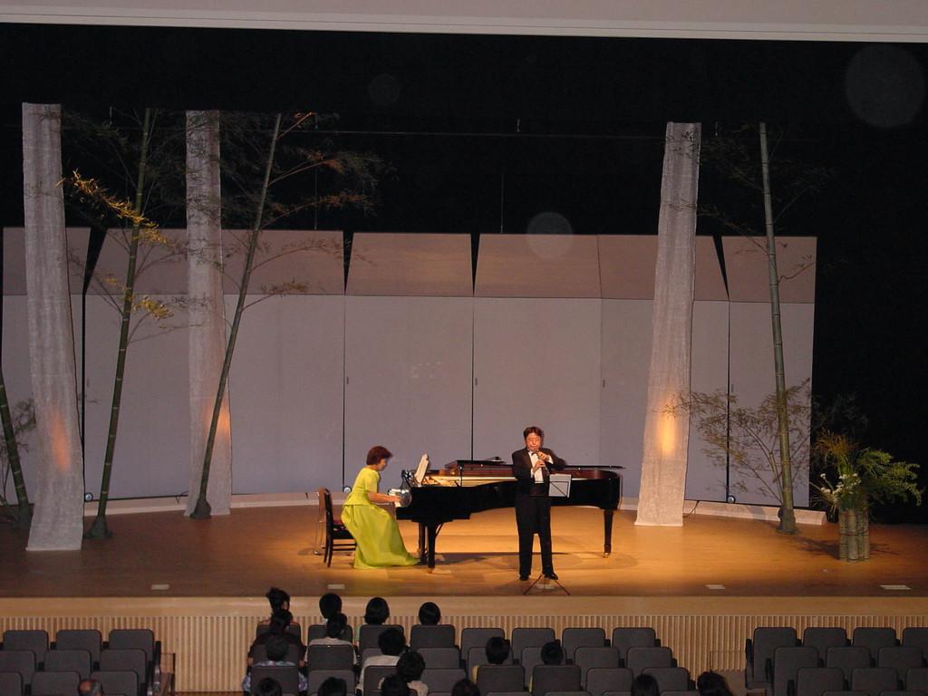 愛媛県五十崎町のコンサート 2000年7月22日 愛媛県五十崎町中央公民館共生館大ホール