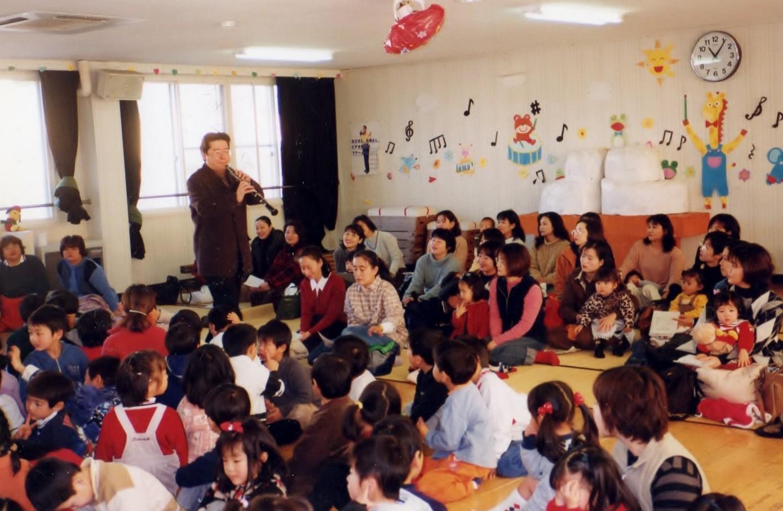 熊本市、武蔵ヶ丘幼稚園コンサート