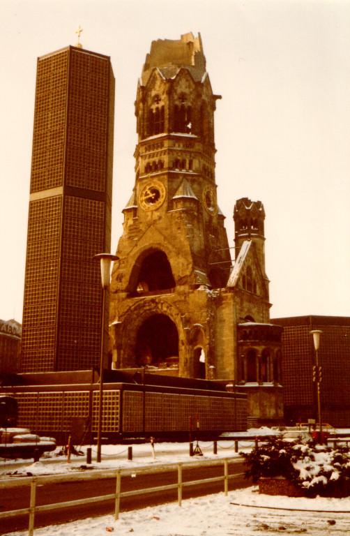 ベルリンの第2次大戦の語り部!カイザーヴィルヘルム記念教会
