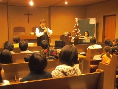 2012年12月17日 日本キリスト改革派平和の君教会コンサート