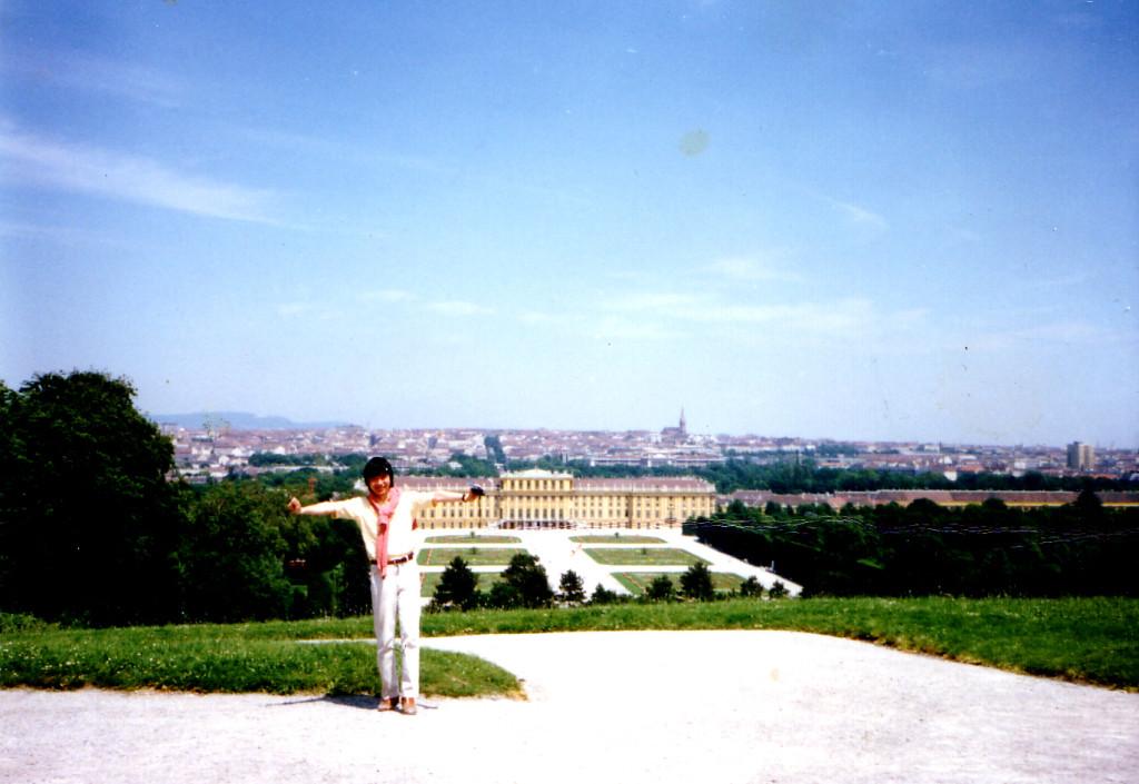 ヴィーン(Wien)シェンブルン宮殿 1987年