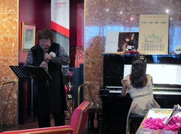 広島市中区ロ'ペラコンサート。