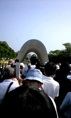 2008年8月6日広島平和祈念式
