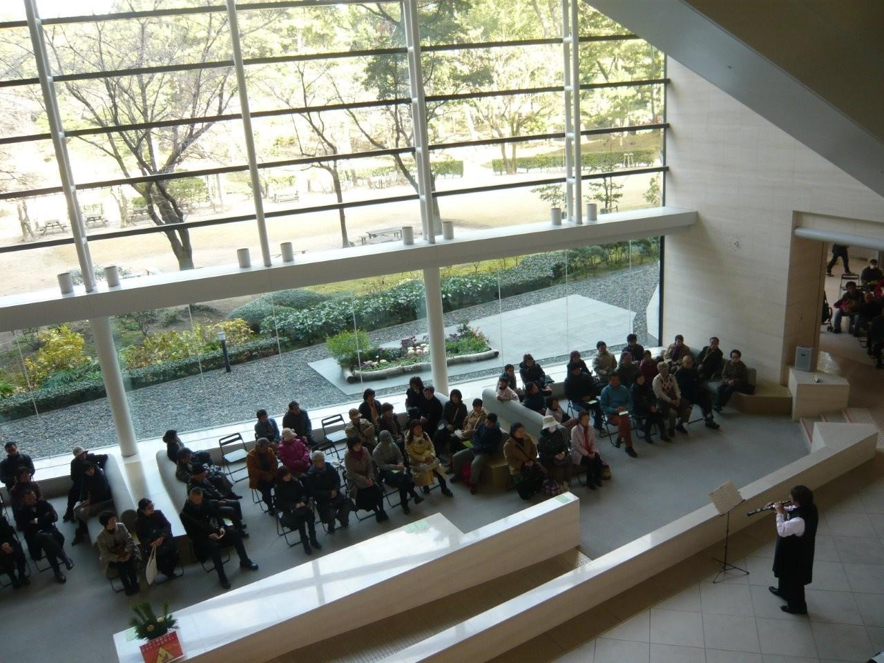 広島県立美術館、新春、ロビーコンサート2015