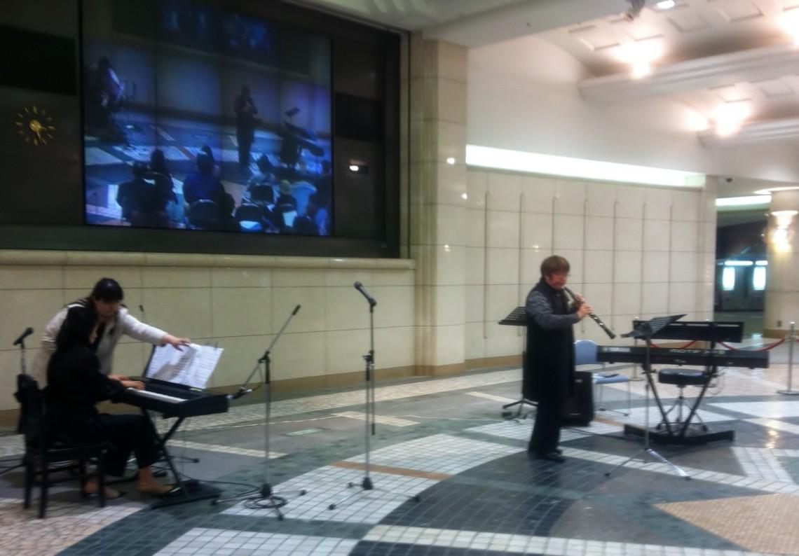 2013年3月25日 広島駅南口地下広場 日本音楽家ユニオン3.19ミュージックの日 春のユニオン街角コンサート