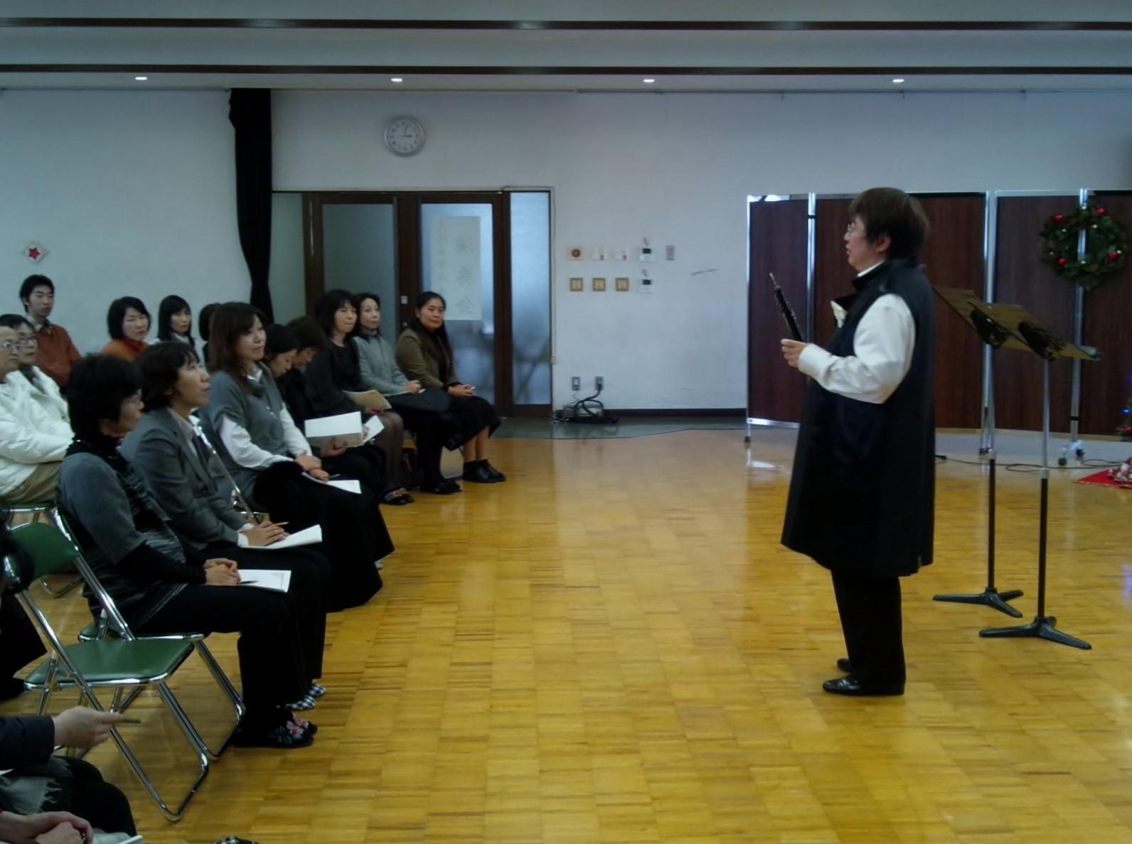 北九州市私立東筑紫学園高等部保護者主催コンサート