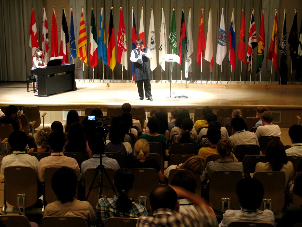 青少年国際平和未来会議ヒロシマ2009! 世界中の若者に演奏で平和のメッセージ