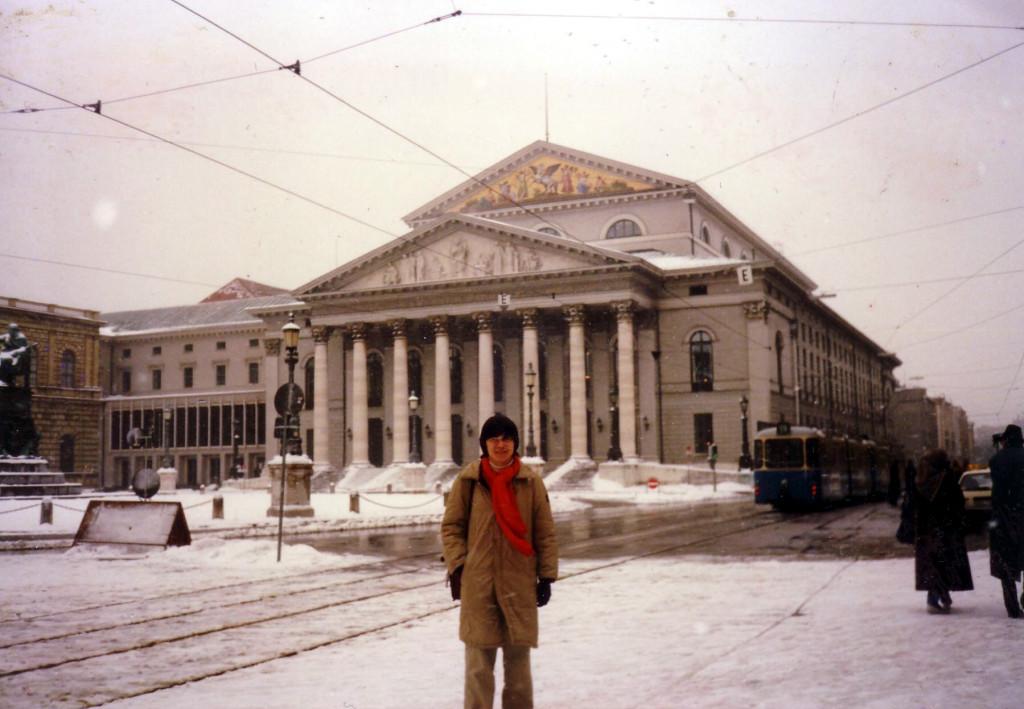 バイエルン国立歌劇場 私の憧れのオペラハウスです