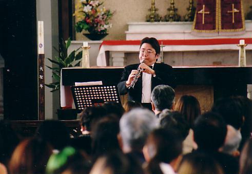 2000年12月11日熊本音楽短期大学 クリスマス特別演奏会  長崎カソリック中町教会 NAGASAKI