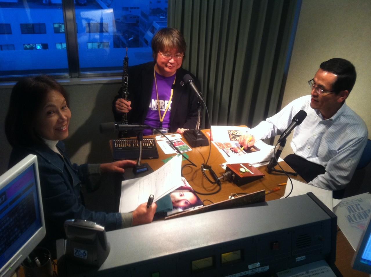 2012年10月30日FMちゅーピー出演