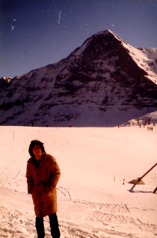 ヴェンゲン(Wengen)Schweiz/スイス アイガーの北壁 1982年