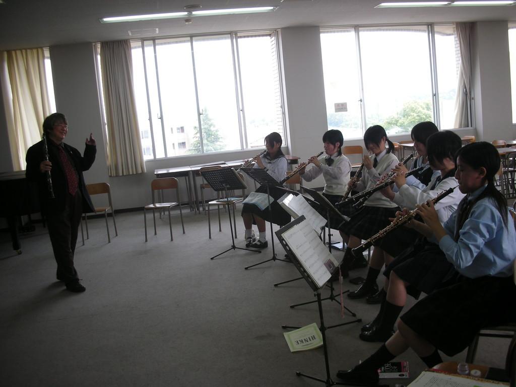 平成音楽大学 ダブルリードセミナー2008