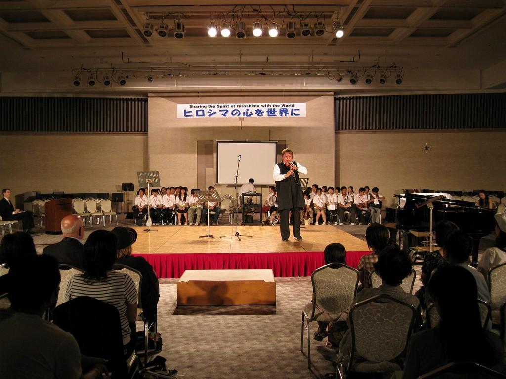 2008年8月6日 ヒロシマ原爆の日での演奏です。