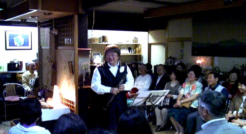 2010年5月22日 広島市安佐北区可部 第12回町家コンサート