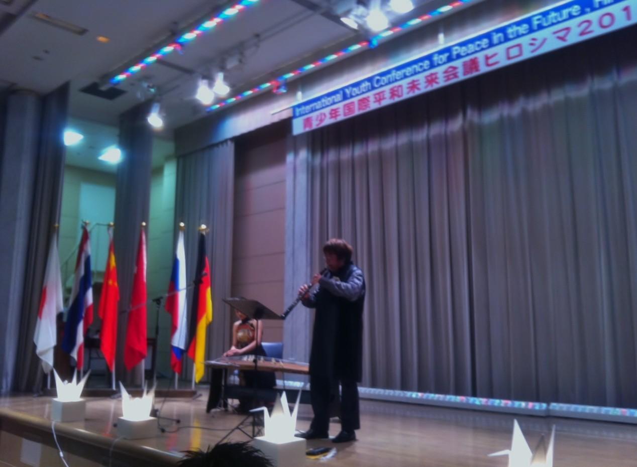 青少年国際平和未来会議HIROSHIMAコンサート