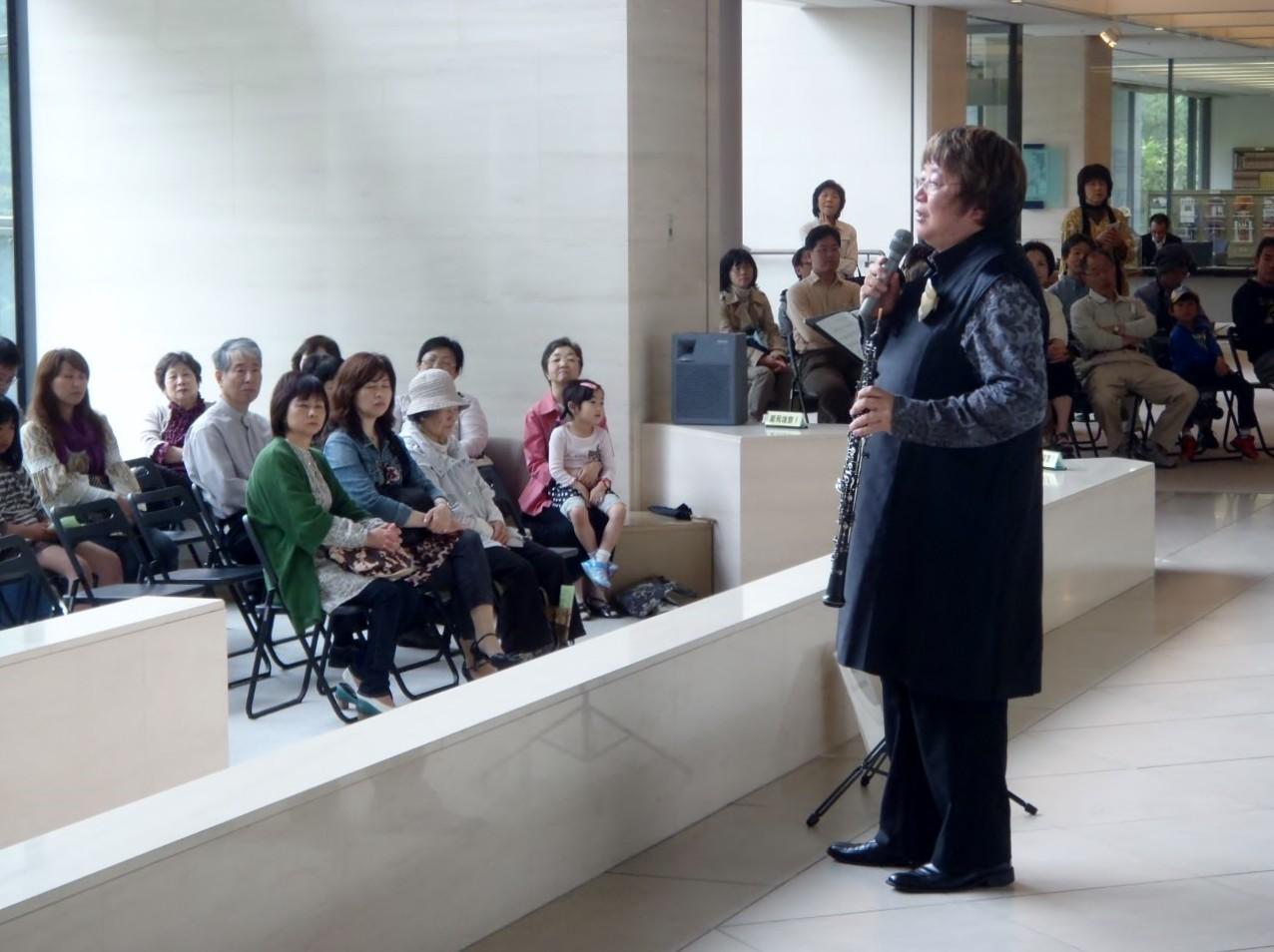 2013年5月4日 広島県立美術館 ロビーコンサート
