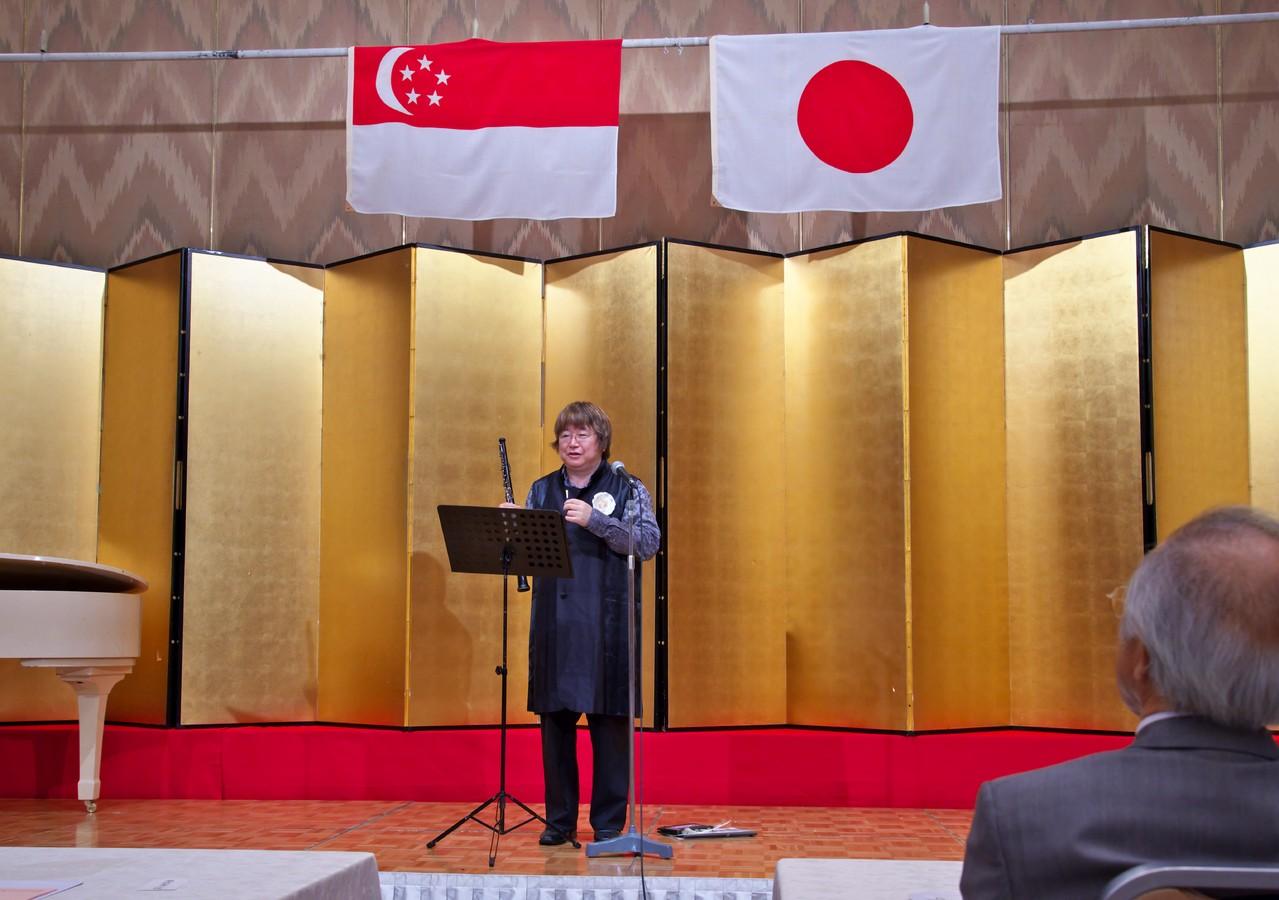 2013年6月7日 広島シンガポール協会演奏(リーガロイヤルホテル広島)