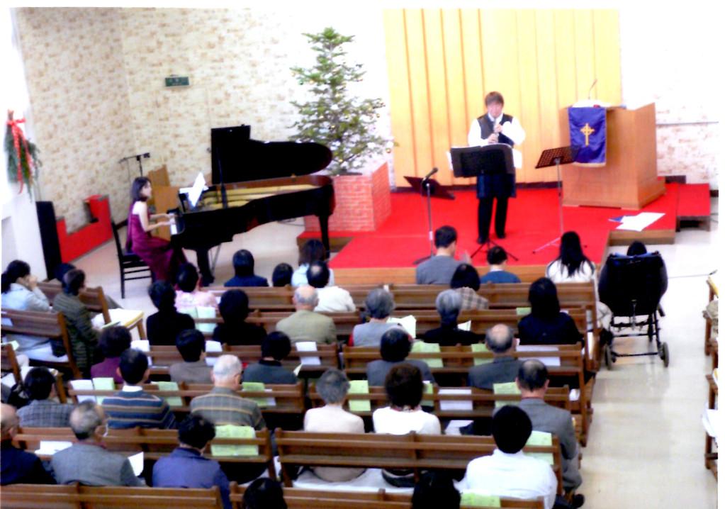 2010年12月5日   2010 光と希望のクリスマスファミリーコンサート 広島市中区西白島町     広島アライアンス教会