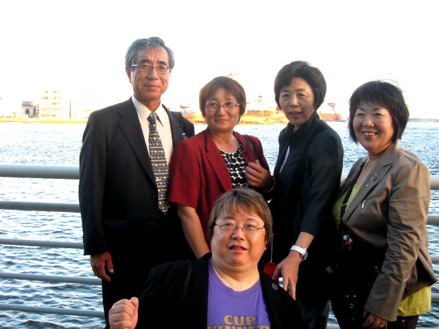 Yoshihiko UEDA  in Pusan /Korea