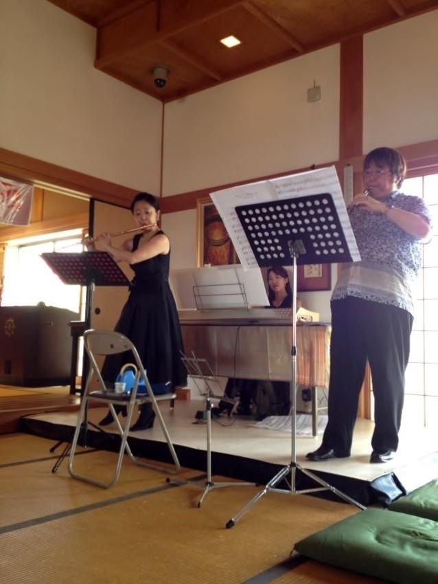 広島県府中町、正観寺地蔵祭りコンサート