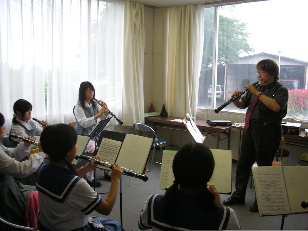平成音楽大学でのOboeセミナー♪