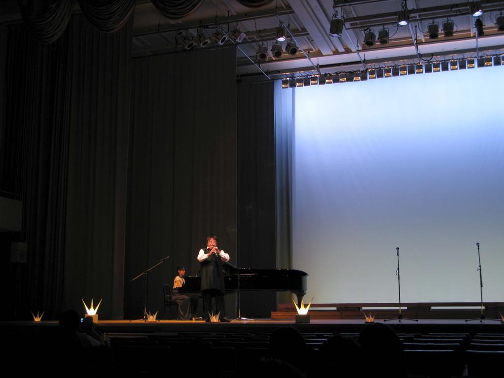 2009年8月6日」広島、原爆の日、 コンサート「ヒロシマの心を世界に!」に出演!
