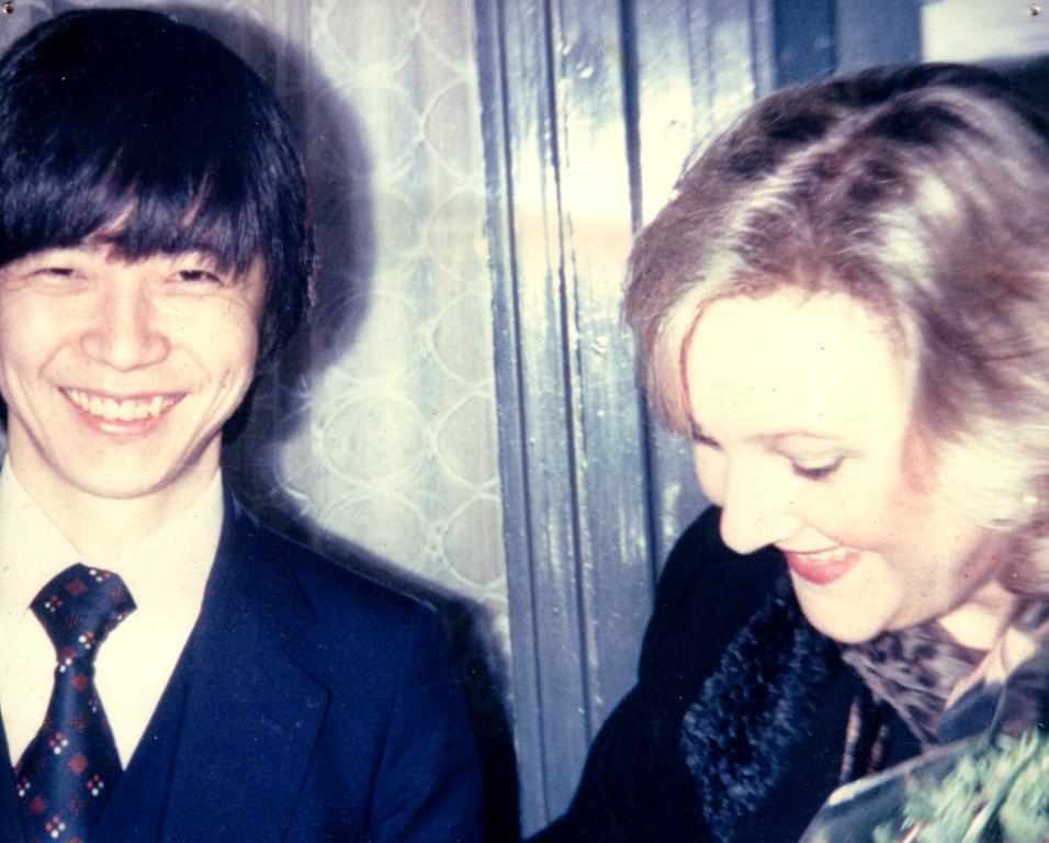 今は亡きソプラノ歌手 ルチア・ポップと、1987年ベルリンドイツオペラでのリーダーアーベント