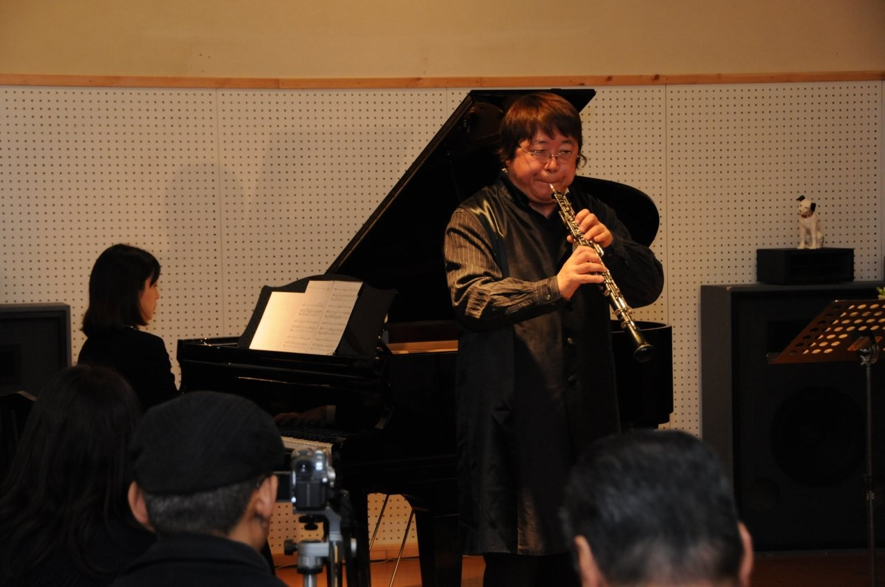 2012年4月1日 広島市南区 純音楽茶房「ムシカ」コンサート