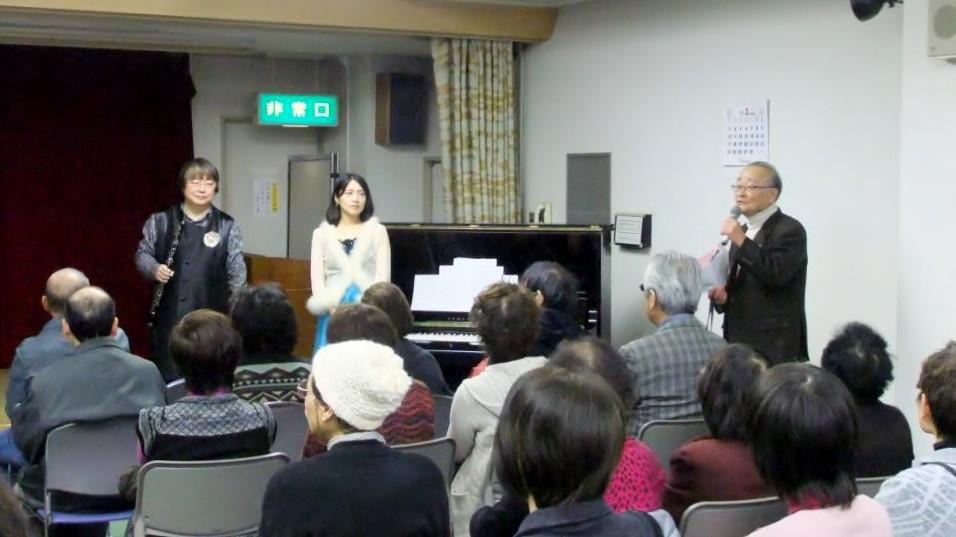広島県廿日市市、阿品老人倶楽部主催コンサート
