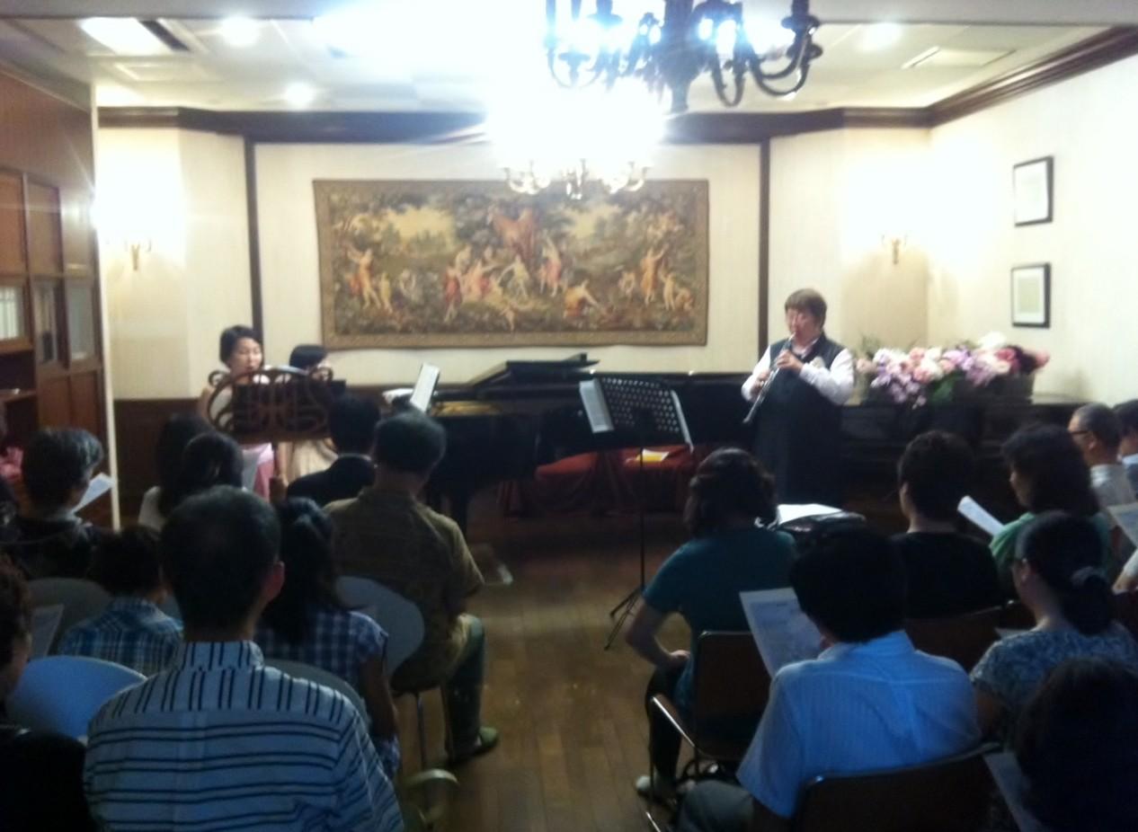 2013年7月7日 Konzert in Akkord Saal/Jyogaoka.Fuchu.HIROSHIMA