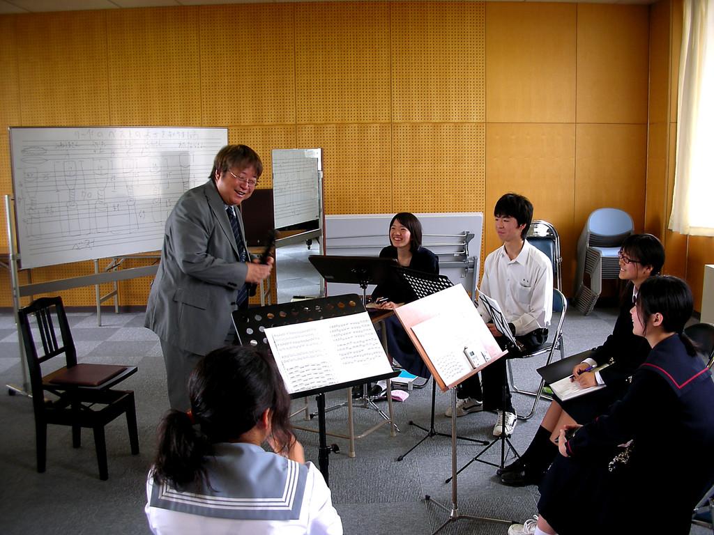 平成音楽大学でのOboeセミナー♪2010