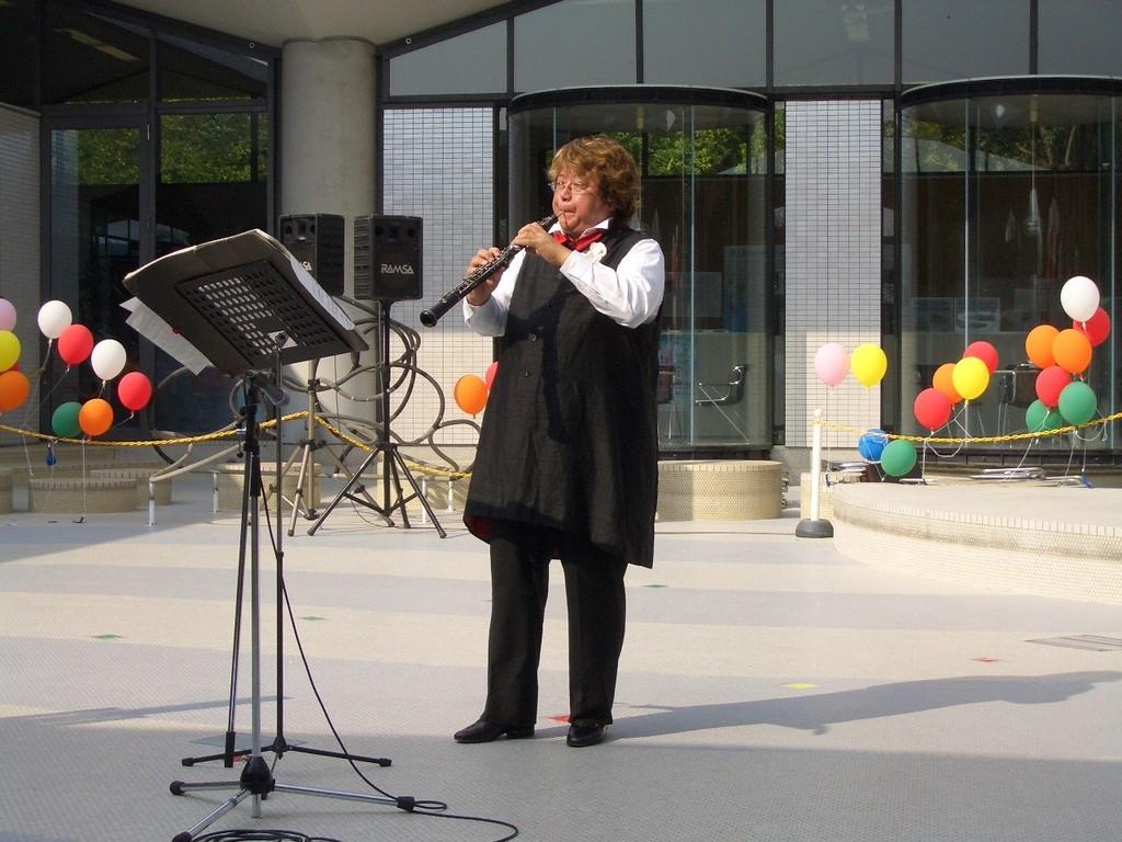 熊本市の水の科学館でのコンサートです。2008年10月19日