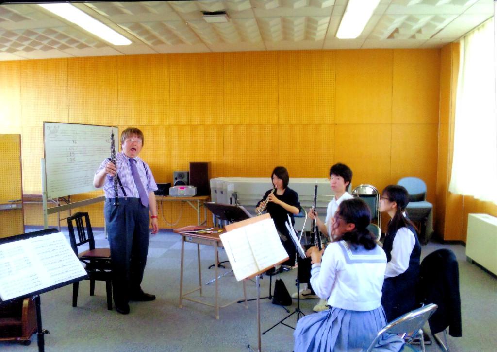 平成音楽大学でのOboeセミナー♪2010 オマケ!(笑)