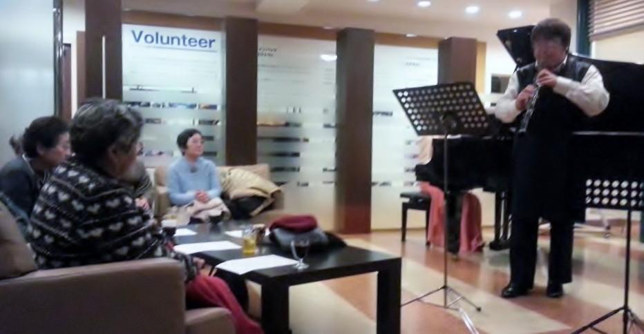2012年12月16日 聖なるオーボエの響きコンサート ヒューモホール