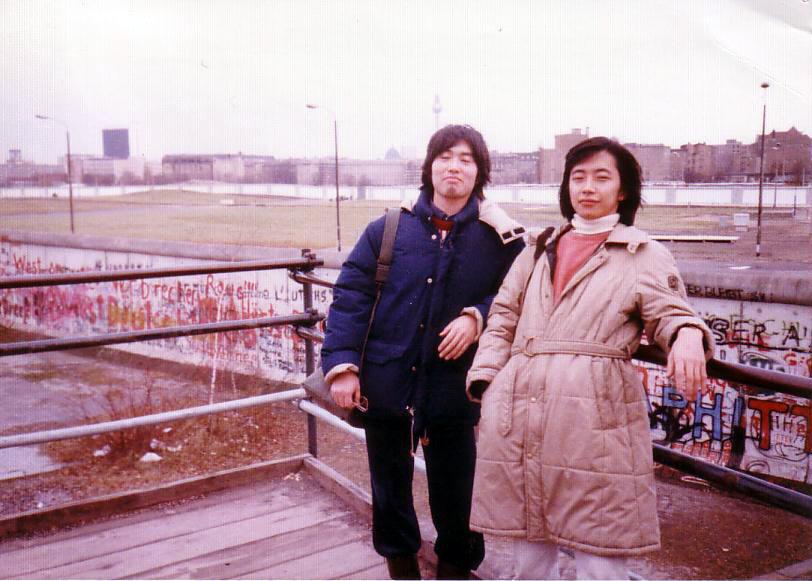1984年当時のポツダマー広場!今はソニーの高層ビルが建っているそうですね!