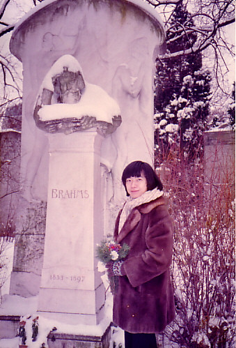 ヴィーン(Wien)中央墓地、ブラームス 1984年