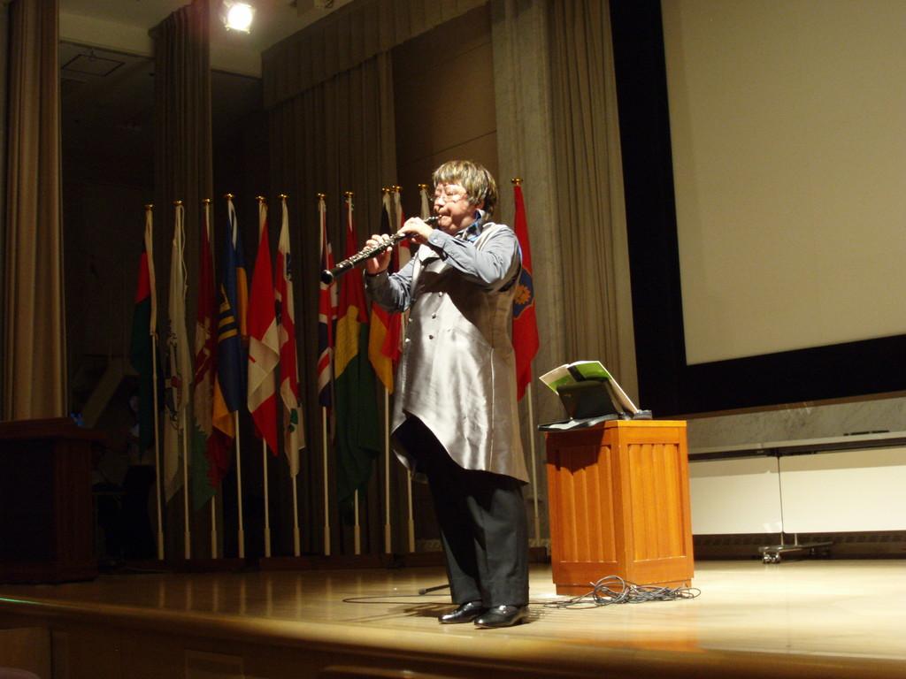 私も平和のメッセージを演奏で!2007年8月9日