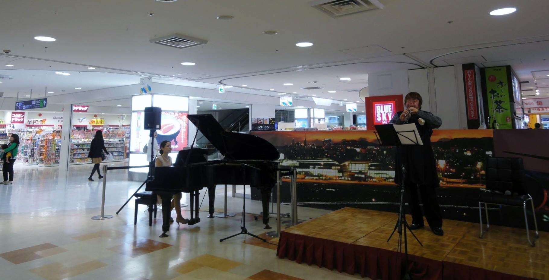 福岡空港そらのもーる広場コンサート