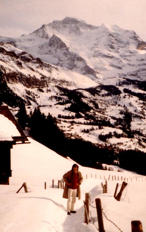 ヴェンゲン(Wengen)Schweiz/スイス ユングフラウ 1982年