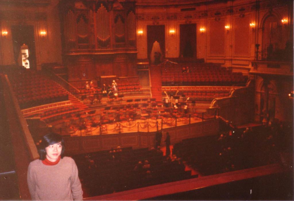 アムステルダムのコンセルトヘボウ(オランダ語のコンサートホール)