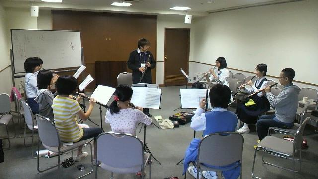福岡市 アクロスクラシックフェスタ オーボエ講習会 2011年10月